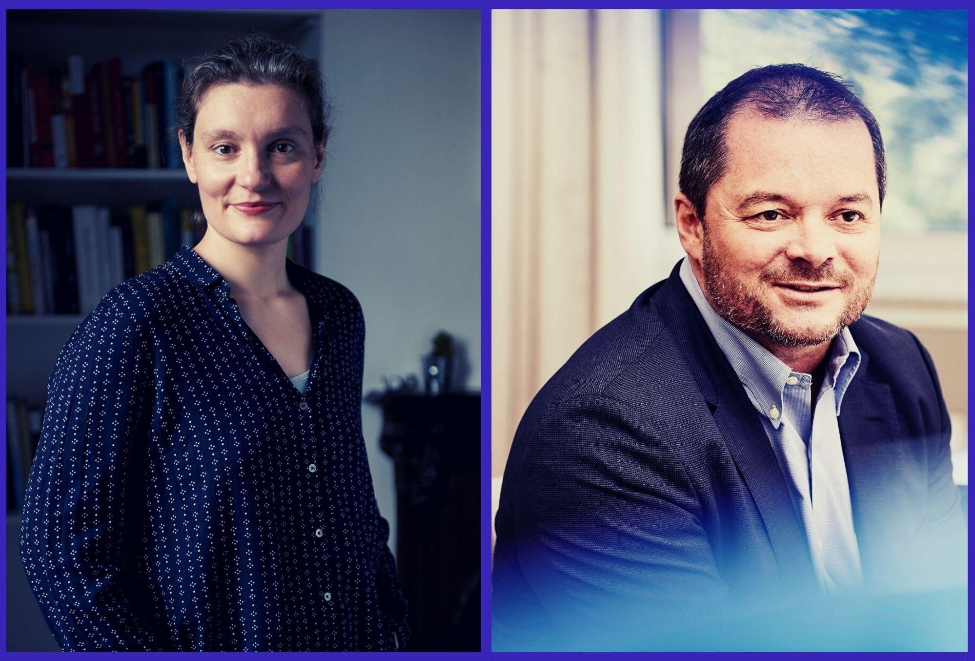 Laetitia Vitaud et Frank Ribuot